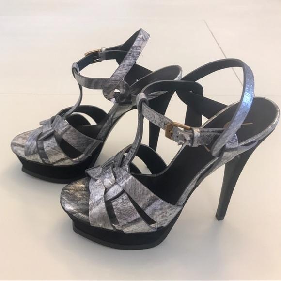 81bc66cbacf YSL Saint Laurent Tribute Platform Sandals EU 37. M 5c400d87f63eea4bb01a5b5b